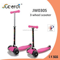 mini maxi PU wheel plastic nylon deck aluminum folding foot push scooter bike