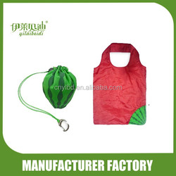 190T Foldable Shopping Bag in watermelon shape