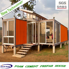 container remold home with good fitting 20'GP container