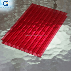 High quality copper colored metal roof for construction