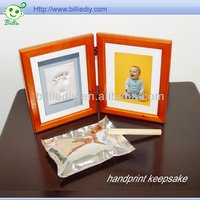Christening Frame Baby Print Clay Kit