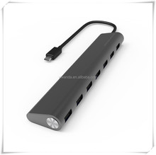 24 pin USB 3.1 to USB 3.0 multi ports 7 Ports data hub with external power supply