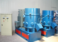 plastic film agglomerator/agglomerating machine