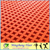Easy to clean Colorful PP interlock flooring for gyms,outdoor interlocking flooring