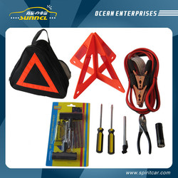 CE-Approved Custom Car Emergency Kit with Carrying Bag Package