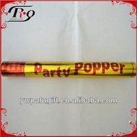 gold party popper
