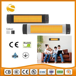 coffee shop, restaurant, open terrace area patio infrared radiant heater-with remote control
