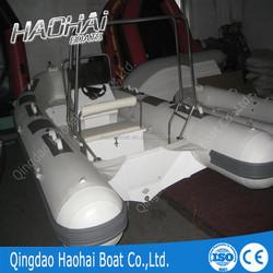 rib boat 520 center console inflatable rib fiberglass rib boat