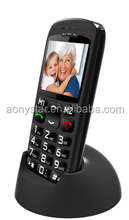 "Manufacturer GSM Senior phone For 1.77"" Low End MTK6250M Quad Band Big Button"