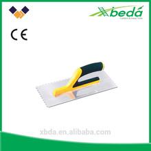 plastic handle plaster trowel plastering darby (FA-8712)