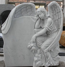 American style marble angel headstones monument