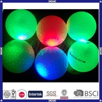 china factory beautiful fluorescent golf ball