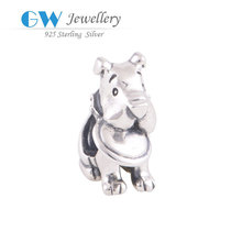 Wholesale Cute European Style Dog Bead Special Charm Pendant