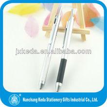 2014 4 color metal Multi-functional pen for promotional (3 ball refills + pencil, 2 ball refills+pencil+ PDA stylus)