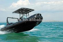 Liya 6.6m central console Rigid inflatable boat rib boat China