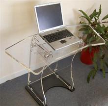 Fashionable custom design clear acrylic computer desk