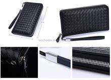 Wallets 2015 Business British fashion handmade sheepskin leather clutch wallet purses