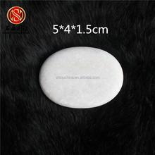 natural white hot stone use natural stone massage shoe