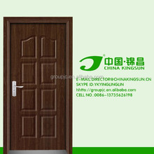 Unique style apartment interior wood doors interior