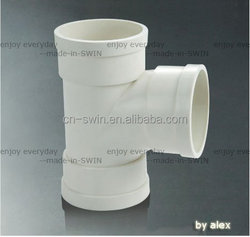 Good quality corrosion resistant with competitive price pvc equal tee for water drainage