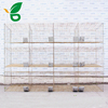Rabbit cage Type and high sandard Q235 steel wire mesh Material rabbit hutch designs