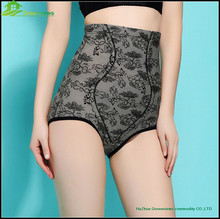 Lace style High Waist underwear Ladies Shaping Panties New Style Wholesale Cheap High Waist Body Spaer Panties GVMT0018