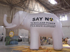 2015 Giant advertising inflatable elephant model in hot sale