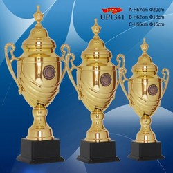 top sale stainless iron custom trophy logo with cheapest price