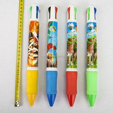 Exclusive patent 4 colors big pen 26cm spikey pen big size printing pen giant pen