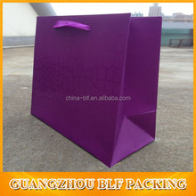 (BLF-PB871)Purple shopping bags