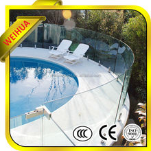 BL 12mm low price standard swimming pool tempered glass fence panels with AS/NZS2208