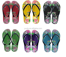 2015 High quality and cheap summer flip flops slippers beach slippers wholesale