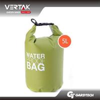 250D PVC tarpaulin 5L Fashion waterproof dry bag for traveling