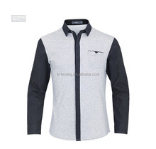 2015 new model 100% cotton fashion shirts for men from K-boxing