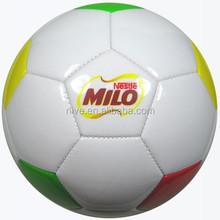 PVC soccer ball/football Size 5,4,3,2 mini brand logo custom print machine sewn wholesale football soccer ball