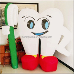 TH-3001 NB Cheap Giant inflatable tooth for dental clinic advertising