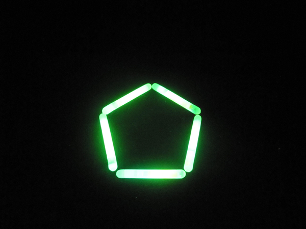 light sticks pentagon