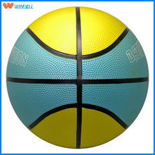 New arrival black bounce natural rubber basketball
