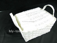 Hot sale white color 100% cotton hotel towel China Manufactory