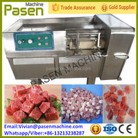 Frozen Meat Dicer Machine/Fresh Meat Cube Cutting Machine/Beef Donkey Pork Lamb Chicken Meat Cube Dicer