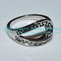 cheap latest simple silver sex anal ring