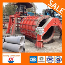 rcc concrete pipe/cement pipe mold water drain pipe machine