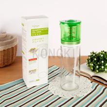 Unique Product Pressed Glass Oil Bottle