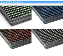 high quality factory price led display single red color outdoor p10 led module