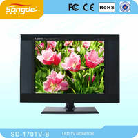 black 17 inch lcd tv 12 volt used for home solar system