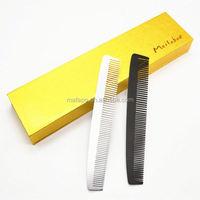 Men metal teeth comb for hair