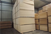 Different thickness plain/raw waterproof MDF Board
