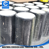 Non base self adhesive bitumen flashing strip