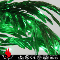 2015 most hot selling fiber optic snowing christmas tree