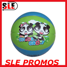 Wholesale official size rubber basketball game basketball for kids